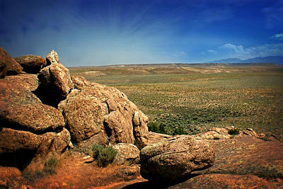 Photograph - Dubois Landscape by Marty Koch