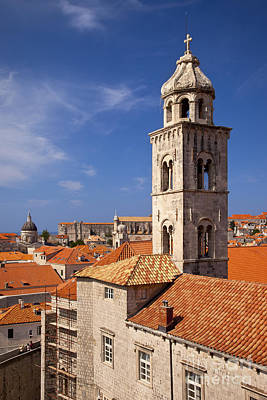 Photograph - Dubrovnik Church by Brian Jannsen