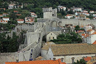 Photograph - Dubrovnik City Walls by Tony Murtagh