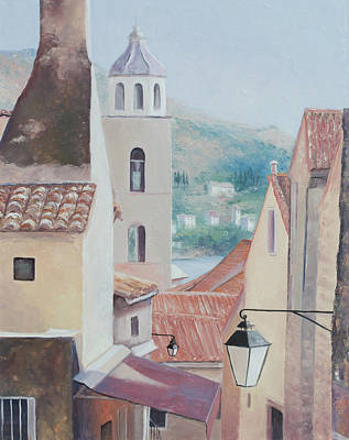 Croatia Painting - Dubrovnik Croatia by Jan Matson
