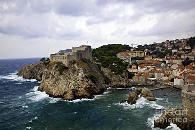 Dubrovnik Croatia Photograph - Dubrovnik In Focus by Madeline Ellis