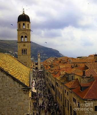 Dubrovnik Croatia Photograph - Dubrovnik - Old City by Madeline Ellis