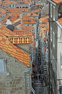 Photograph - Dubrovnik Street by Tony Murtagh
