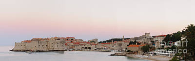 Castle Photograph - Dubrovnik Sunrise by Oscar Gutierrez