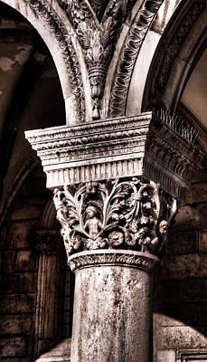 Photograph - Dubrovnik Town Hall Chapitel by Weston Westmoreland