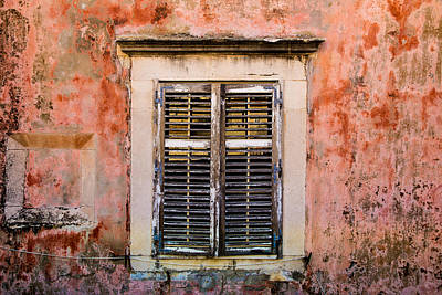 Photograph - Dubrovnik Window by Justin Albrecht