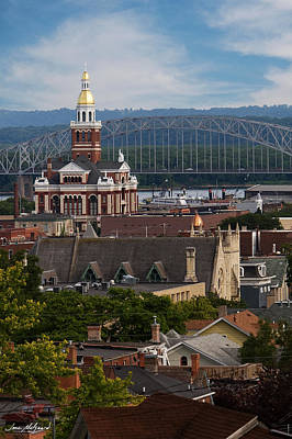 Photograph - Dubuque Iowa by Jane Melgaard