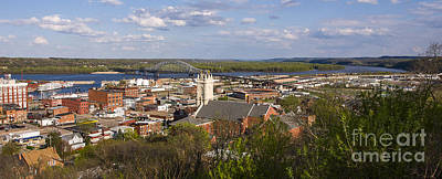 Photograph - Dubuque Iowa by Steven Ralser