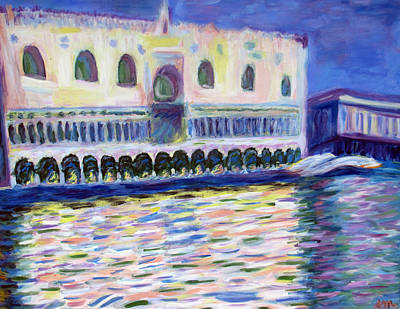 Painting - Ducal Palace by Angelina Vick