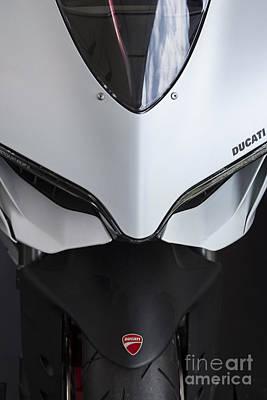 Ducati-unplugged V12 Art Print by Douglas Barnard