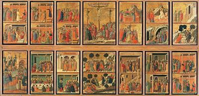 Duccio Di Buoninsegna, The Maest Art Print