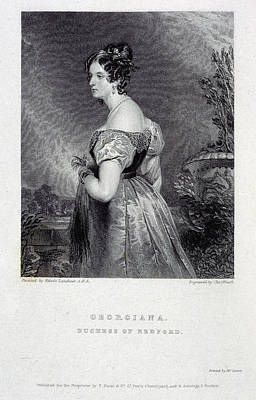 Aristocrat Photograph - Duchess Of Bedford by British Library
