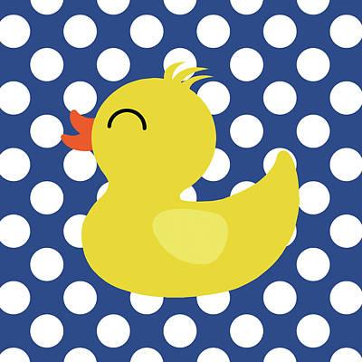 Bird Bath Painting - Duck 1 by Tamara Robinson