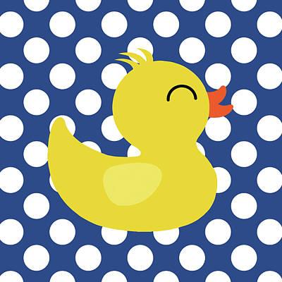 Bird Bath Painting - Duck 2 by Tamara Robinson