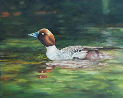 Painting - Out For A Swim by Becky West