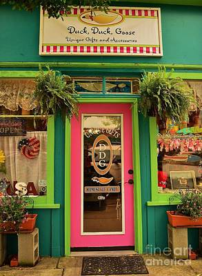 Photograph - Duck Duck Goose Front Door by Bob Sample