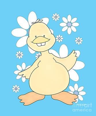 Koala Drawing - Duck Friend Created By Kidslolll 20_24 by Kids Lolll