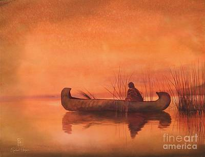 Hunters Painting - Duck Hunter by Robert Hooper