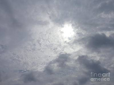 Photograph - Duck In Beautiful Sky by Christina Verdgeline