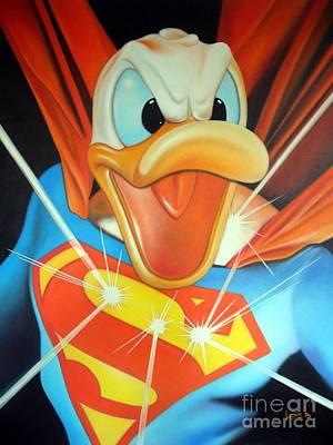 Duck Of Steel Original by Michael Loeb