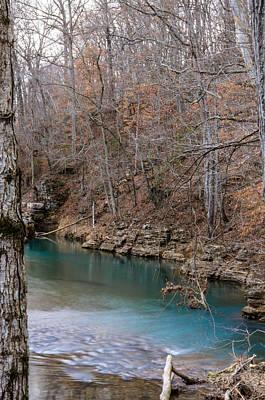 Photograph - Duck River by Mark Bowmer
