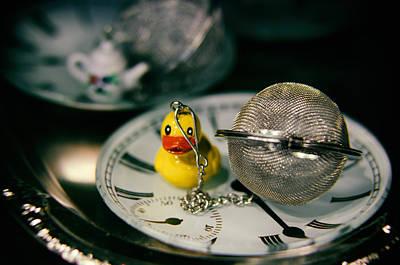 Diffuser Photograph - Duck The Hour by Scott Wyatt