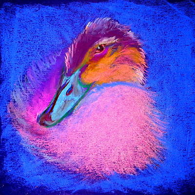 Duckling Pretty In Pink Art Print