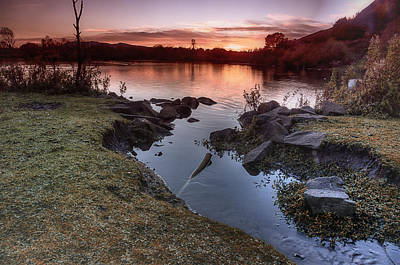 Photograph - Duddingston Loch by Jean-Noel Nicolas
