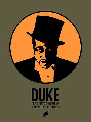 Dude Poster 3 Art Print by Naxart Studio