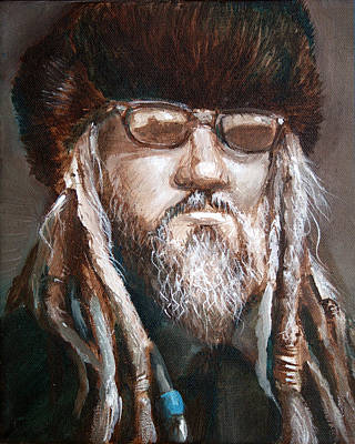Dread Painting - Dude by Vanessa Bates