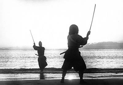 Duel On Ganryu Island Art Print by Dan Twyman