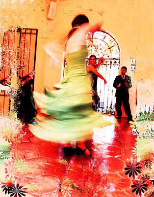 Ballroom Mixed Media - Duende by Doug Walker