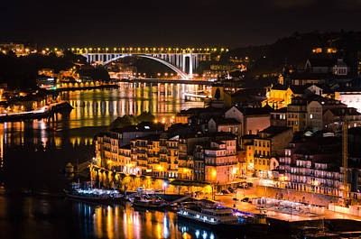 Photograph - Duero River In Oporto by Pablo Lopez