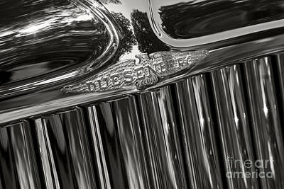 Photograph - Duesenberg Grill by Dennis Hedberg
