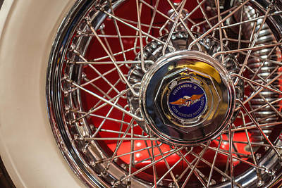 1 Object Photograph - Duesenberg Wheel by Lauri Novak