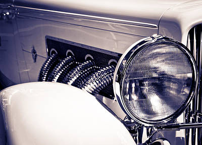 Photograph - Duesy Headlight by Alexey Stiop