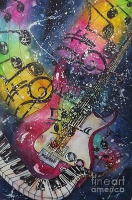 Painting - Duet by Carol Losinski Naylor