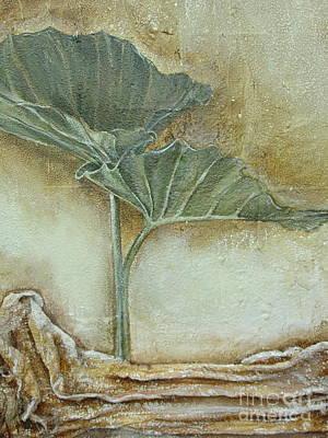 Duet In Green Art Print by Delona Seserman