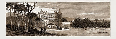 Fife Drawing - Duff House, Banff, Scotland, The Seat Of The Earl Of Fife by Litz Collection