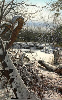 Painting - Duffins Creek 3 by Robert Hinves