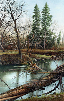 Painting - Duffins Creek Iv by Robert Hinves