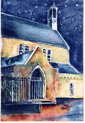 Ireland Painting - Duiske Abbey Ireland    by Trudi Doyle