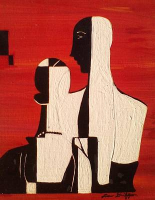 Painting - Duke And Duchess by Lew Griffin