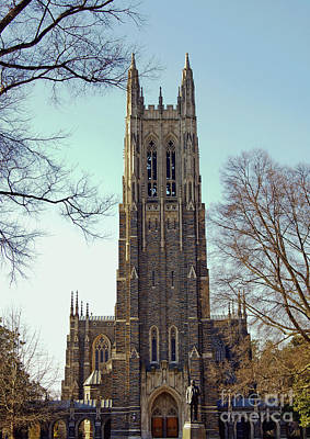 Photograph - Duke Chapel by Debra Crank