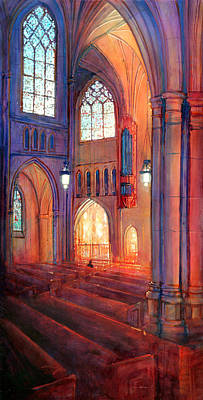 Duke Chapel Interior Art Print