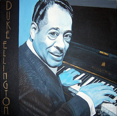 Painting - Duke Ellington by Chelle Brantley