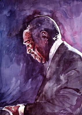 Portraits Royalty-Free and Rights-Managed Images - Duke Ellington Mood Indigo Sounds by David Lloyd Glover