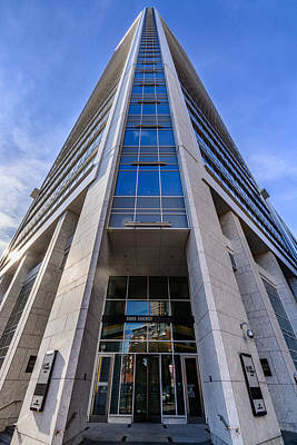 Photograph - Duke Energy Center Corner View by Randy Scherkenbach