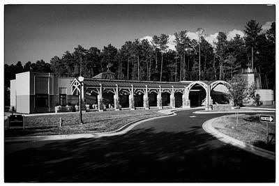 James Madison University Photograph - Duke In Bw by Georgia Fowler