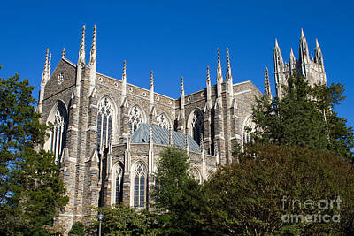 Photograph - Duke University Chapel by Steven Frame